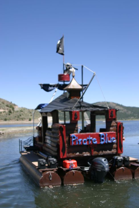 pirate blue