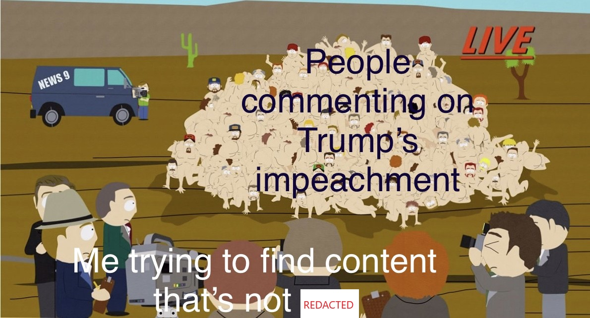 impeachment pile REDACTED
